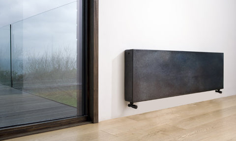 Eskimo Gong Outline Horizontal Radiator - Central Heating