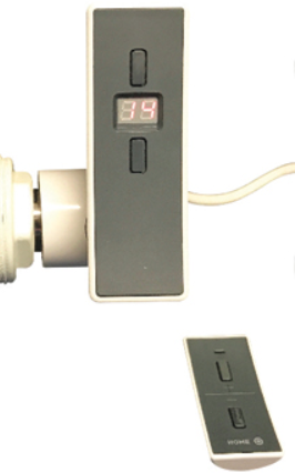 DQ HR Horizontal Thermostatic Remote Controlled Electric Heating Element