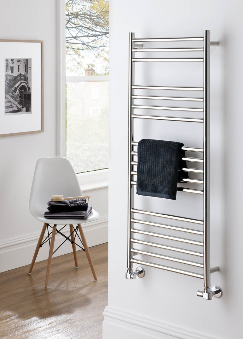 The Radiator Company Iris Stainless Steel Towel Radiator