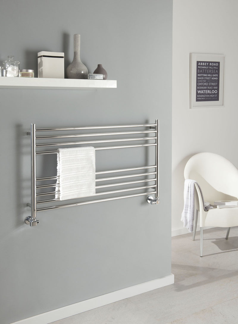 The Radiator Company Iris Horizontal Towel Stainless Steel Radiator