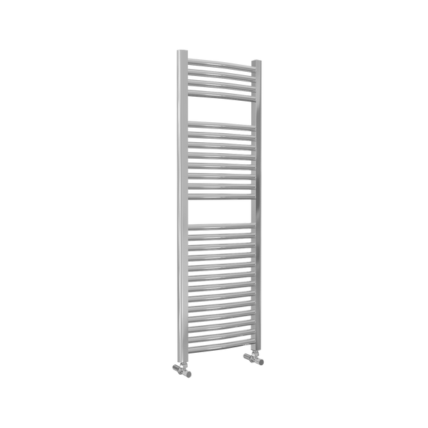 Lazzarini Roma - Chrome Curved Towel Rail