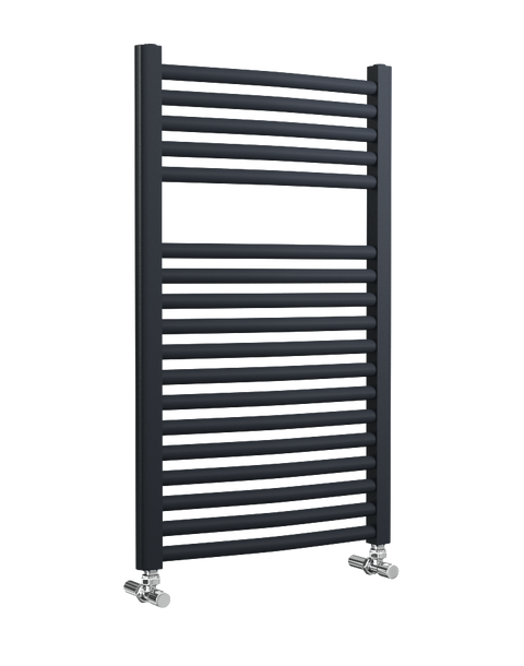 Lazzarini Roma - Anthracite Curved Towel Rail