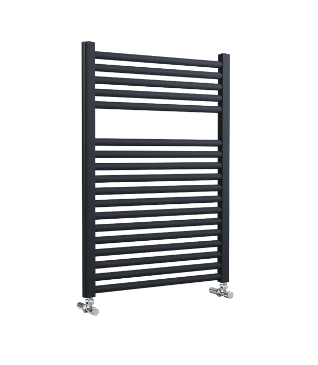 Lazzarini Roma - Anthracite Straight Towel Rail