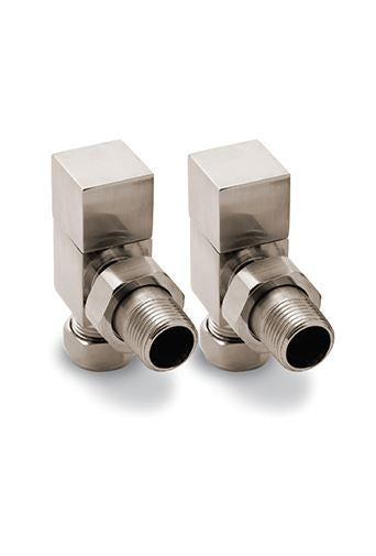 Reina Loge Angled Manual Valve Chrome