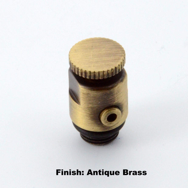 Luxury Bleed Valve - Antique Brass
