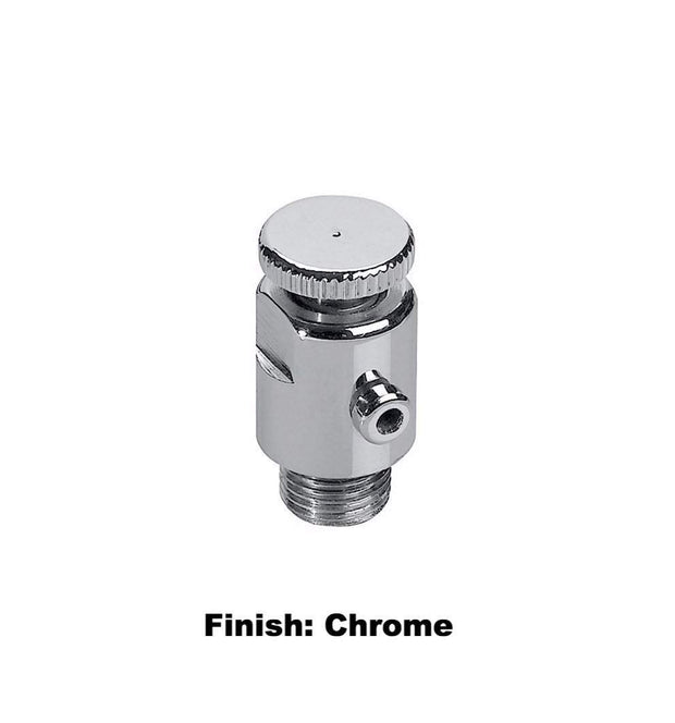 Luxury Bleed Valve - Chrome