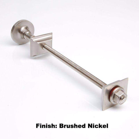 Luxury Wall Stay - Brushed Nickel
