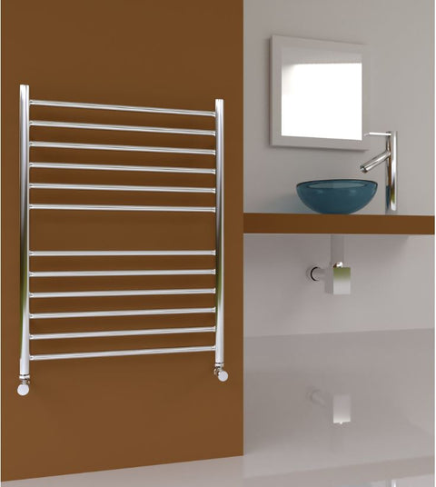 SBH Midi Flat Towel Radiator 810 height - SS200 & SS201