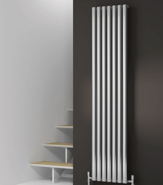 Reina Neva Vertical Chrome Radiator