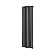 The Mayfair - Single Vertical Radiator - Black
