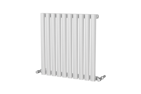 The Mayfair - Horizontal Single Designer Radiator - White