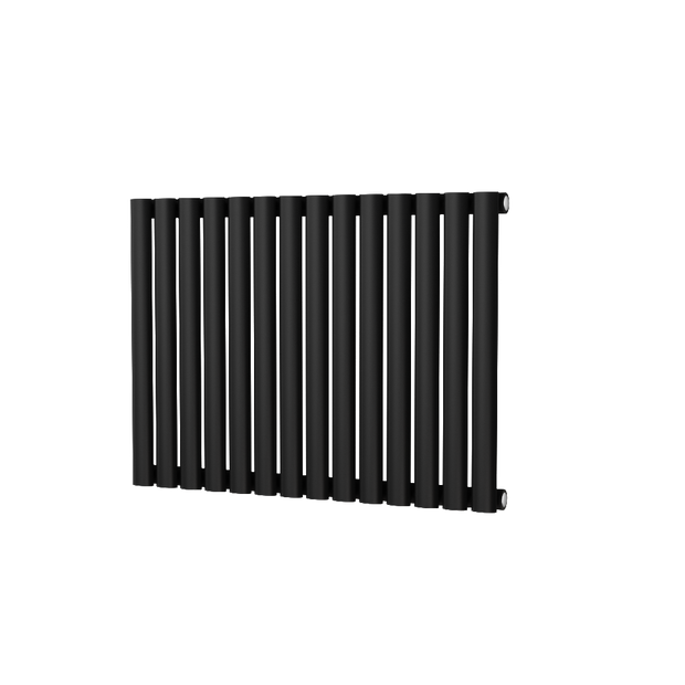 The Mayfair - Horizontal Single Designer Radiator - Black