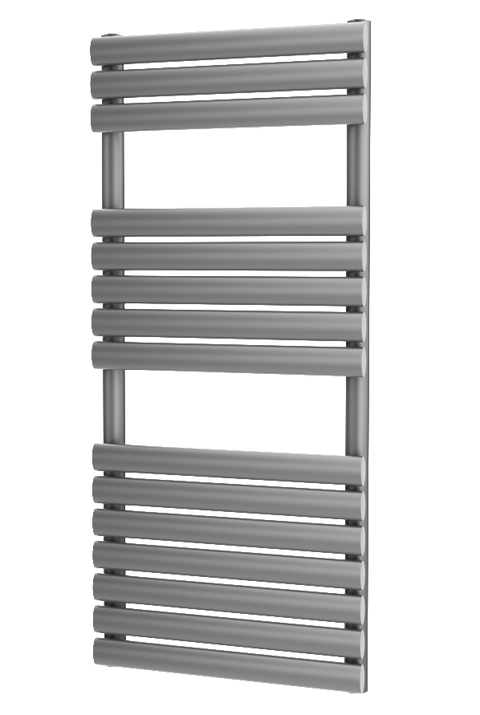 The Mayfair - Designer Towel Rail - Silver