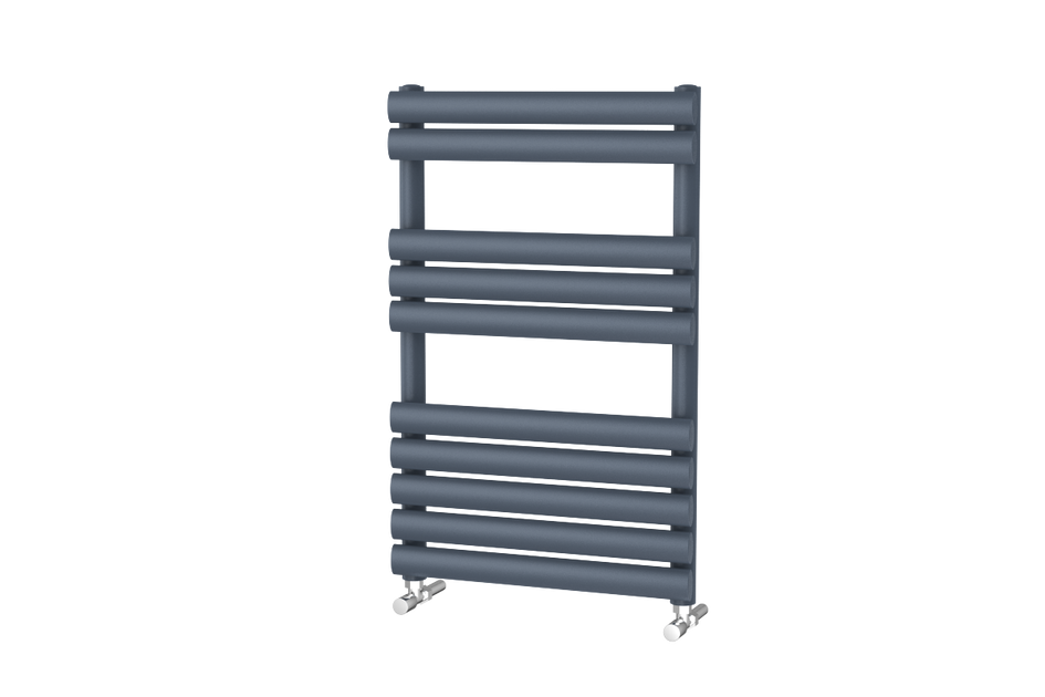 Brushed Chrome Bathroom Radiators: Designer Towel Rail