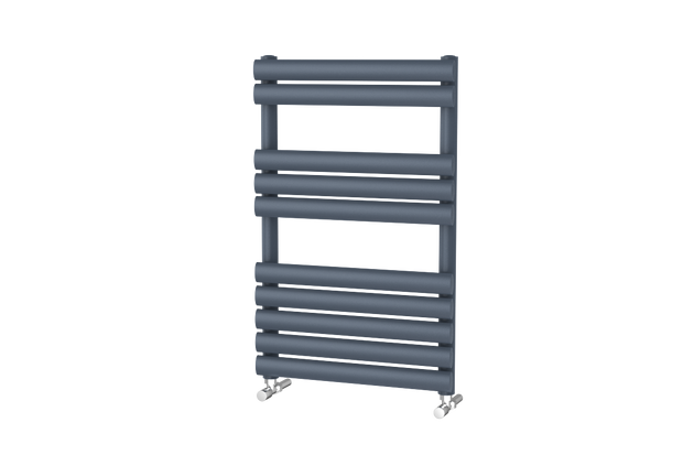 The Mayfair - Designer Towel Rail - Anthracite