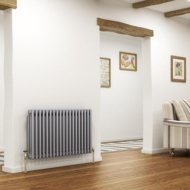DQ Peta Central Heating Column Radiator (2 Column)