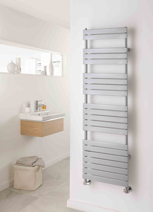 TRC Piano Towel Radiator - Shown in Satinato RAL Colour