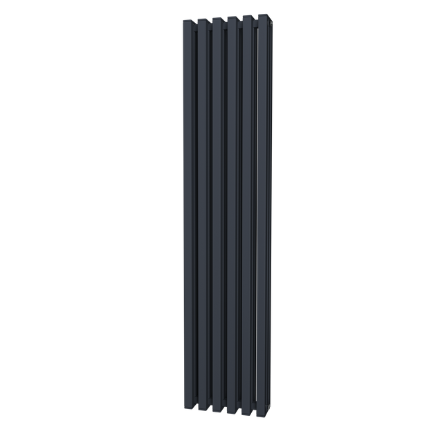 Square Tube - Vertical Radiator - Anthracite