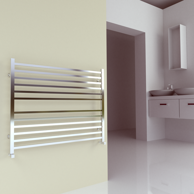 SBH Midi SQUARE Towel Radiator 810 height - SS204SQ