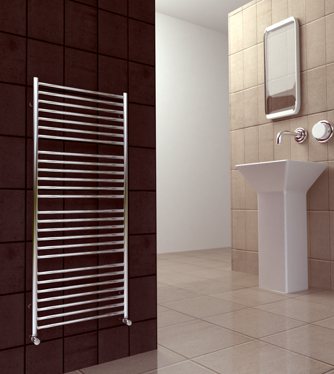 SBH Maxi PLUS Flat Towel Radiator 1400 height - SS500