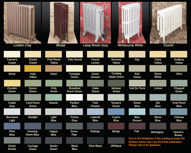 The Tudor 6 - 660mm - Cast Iron Radiator - 6 Column