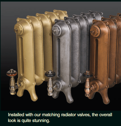 Luxury Bleed Valves -  for Cast Iron Column Radiators