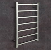 Thermorail Ladder - Square Profile Electric Heated Towel Rail - SS44M