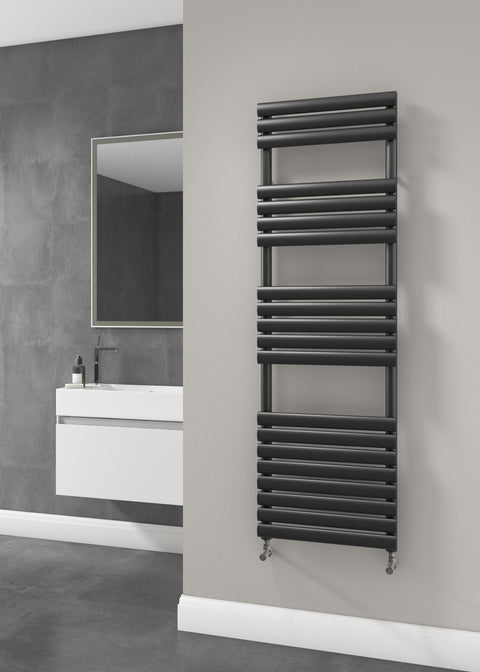 The Mayfair - Designer Towel Rail - Black
