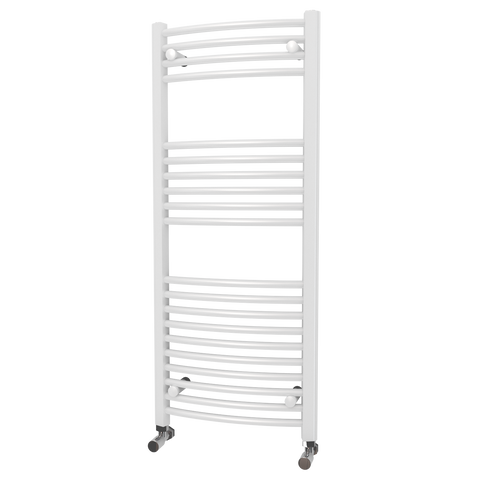Trade Range - White Curved Towel Rail