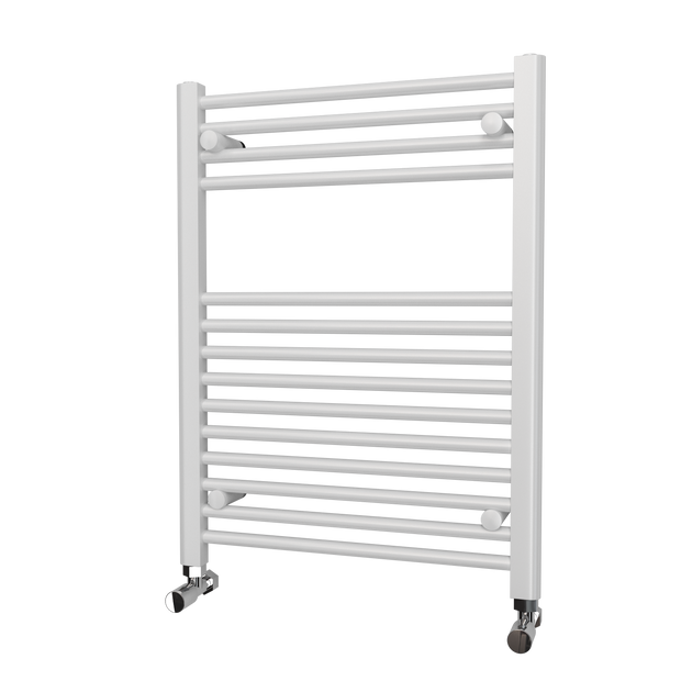 Trade Range - White Straight Towel Rail