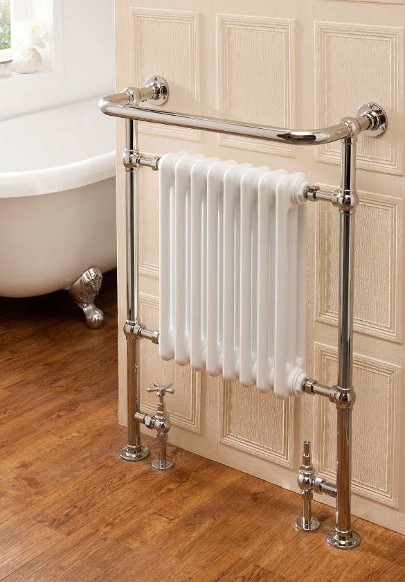 The Radiator Company Chalfont - Floor Standing Towel Radiator
