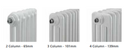 Supplies 4 Heat Cornel 3 Column Horizontal Radiator