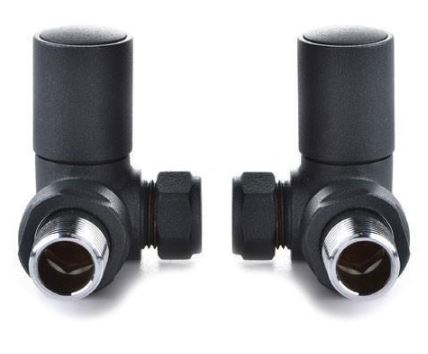 Reina Crova Corner Manual Radiator Valve Sets