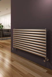 Reina Artena Horizontal Stainless Steel Radiator - Designer Radiator - Great Rads Ltd. - 4