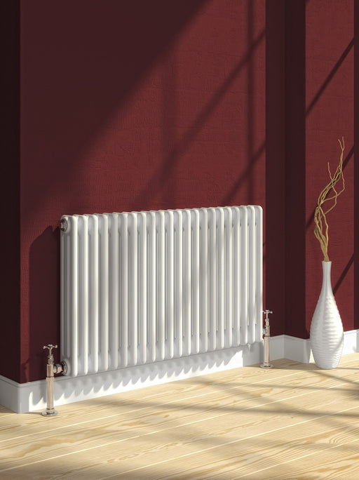 Reina Colona Horizontal Designer Column Radiator - Designer Radiator - Great Rads Ltd. - 1