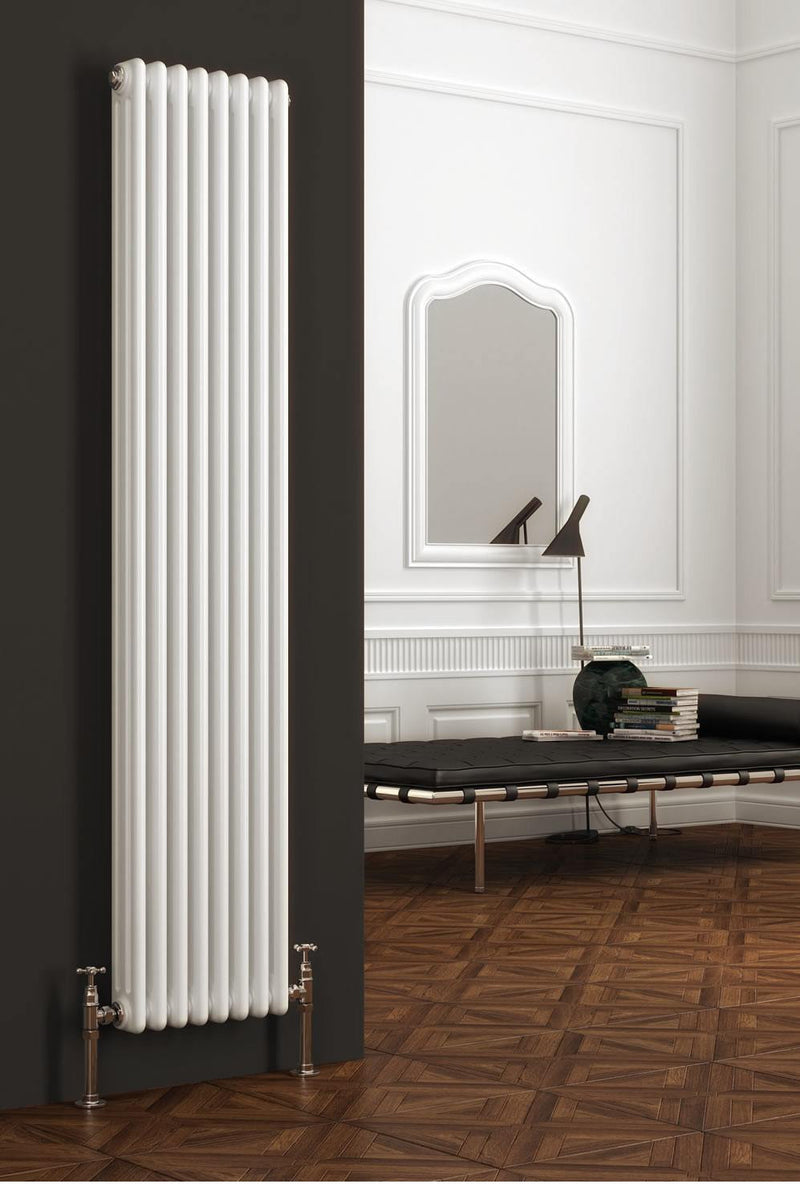 Reina Colona Vertical Designer Column Radiator - Designer Radiator - Great Rads Ltd. - 1