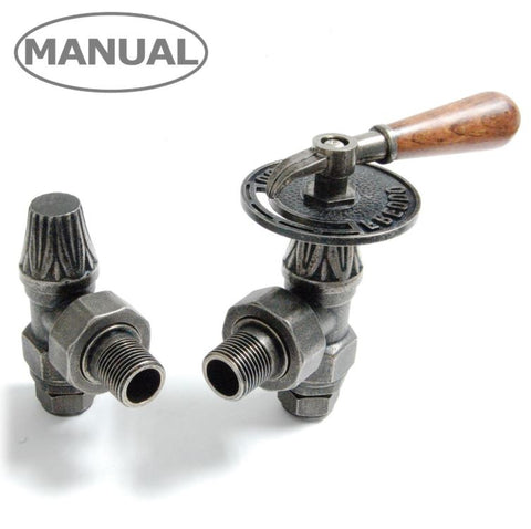 Abbey Radiator Valve Sets - Various Finishes