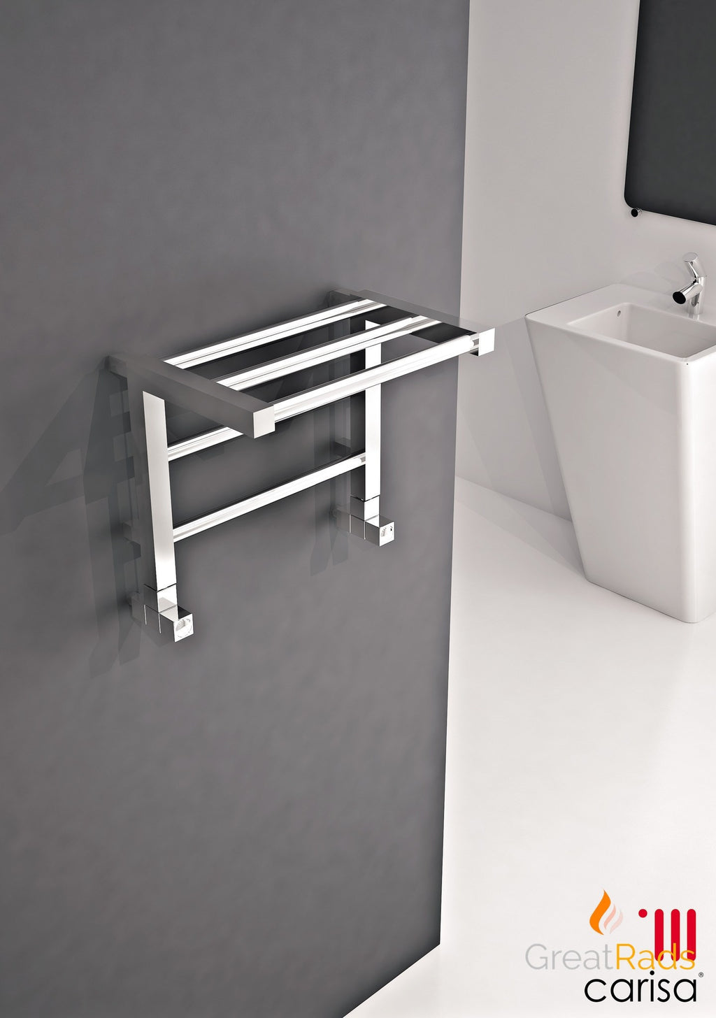 Towel Radiator - Carisa Etage Towel Radiator