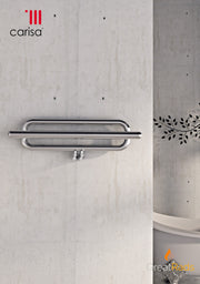 Towel Radiator - Carisa Swing Stainless Steel Towel Radiator