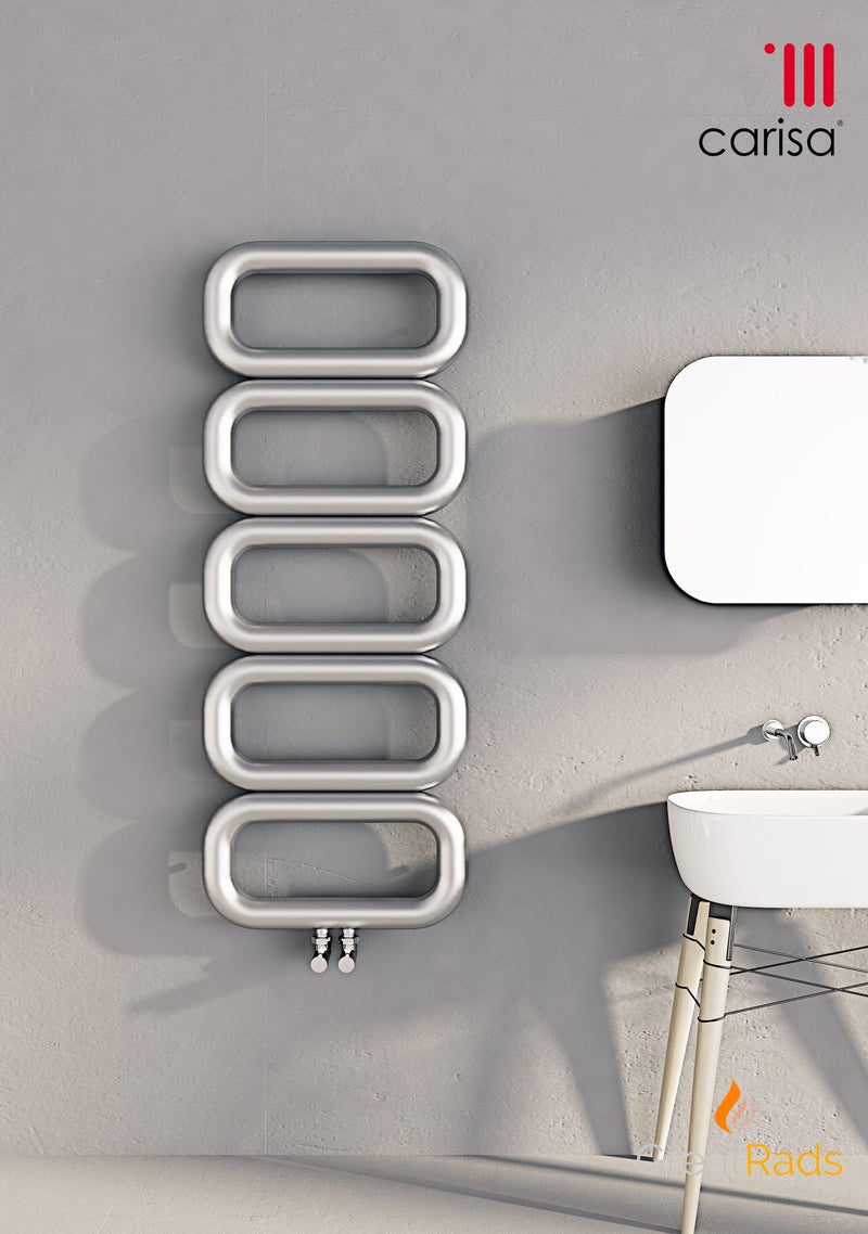 Towel Radiator - Carisa Talent Stainless Steel Towel Radiator
