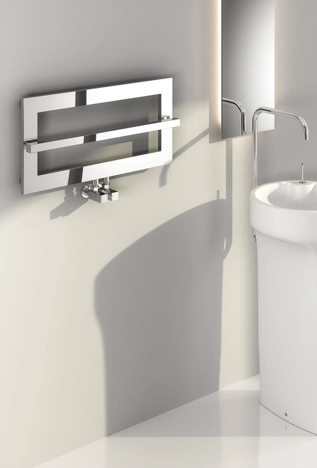 Reina Breno Designer Towel Rail - Towel Radiator - Great Rads Ltd.