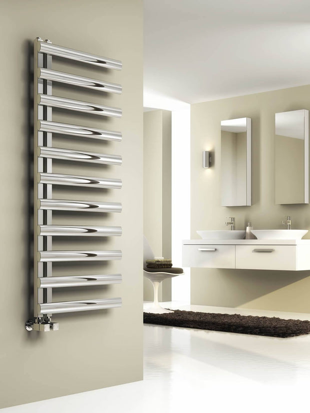 Reina Cavo Stainless Steel Towel Radiator - Towel Radiator - Great Rads Ltd. - 1