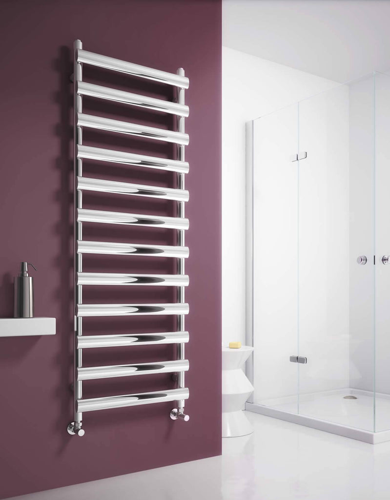 Reina Deno Stainless Steel Towel Radiator - Towel Radiator - Great Rads Ltd. - 1