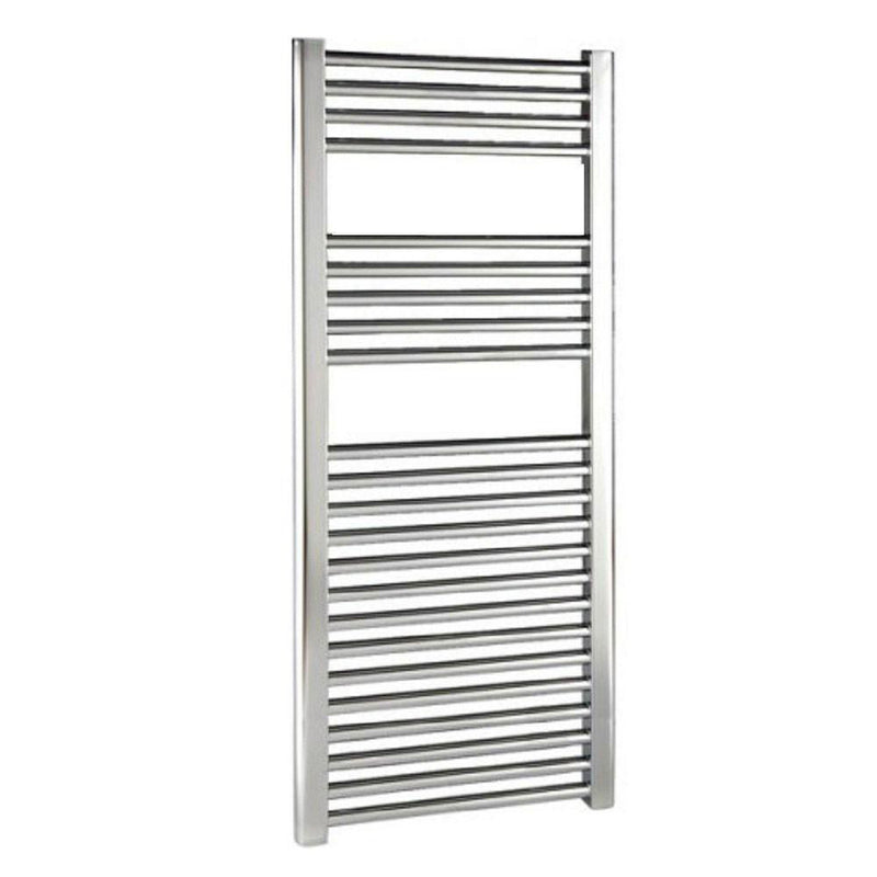 Reina Diva Flat Chrome Towel Radiator - Towel Radiator - Great Rads Ltd.