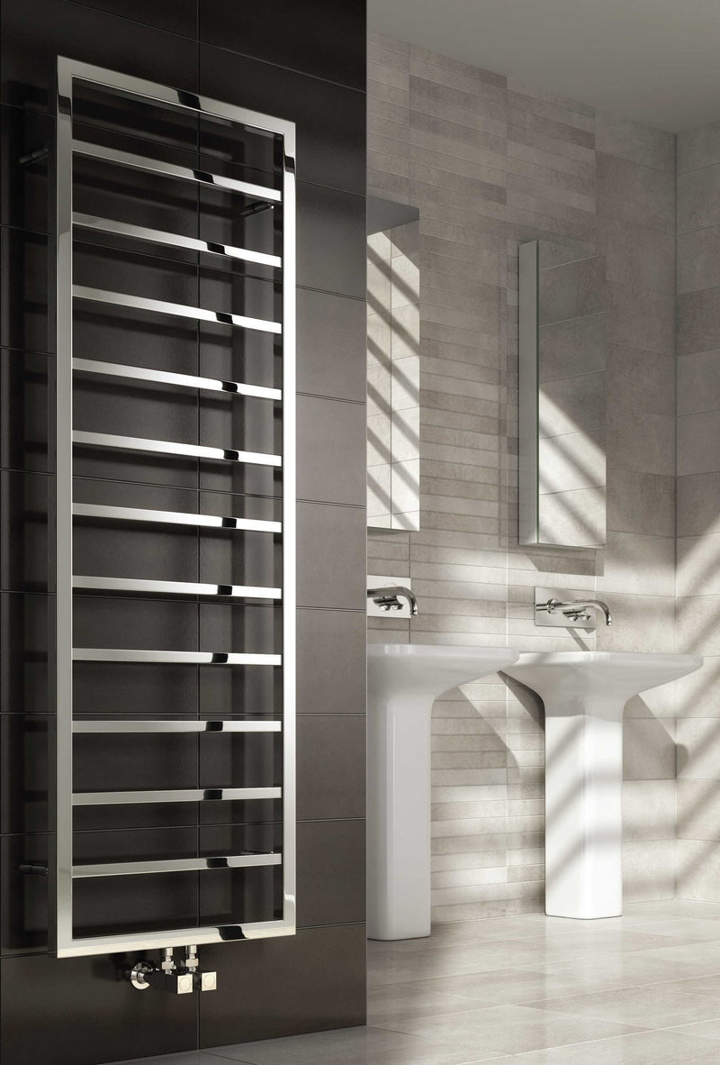 Reina Egna Stainless Steel Towel Radiator - Towel Radiator - Great Rads Ltd. - 1