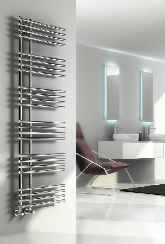 Reina Elisa Designer Towel Rail - Towel Radiator - Great Rads Ltd. - 1