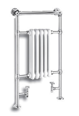 Reina Oxford Traditional Towel Radiator - Towel Radiator - Great Rads Ltd.