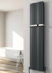 NEW Reina Wave Vertical Aluminium Designer Radiator