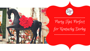 Party Tips for the Perfect Kentucky Derby Party & Cocktail Recipes