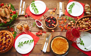 Relaxed and Intimate Thanksgiving Dinner